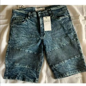 Paper Denim & Cloth Stretch Slim Fit JEANS Shorts